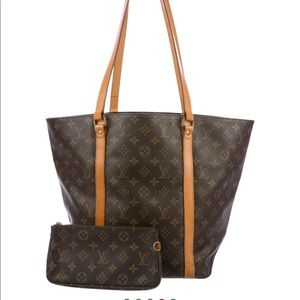 Luis Vuitton Shopping Bag 48 w/pouch